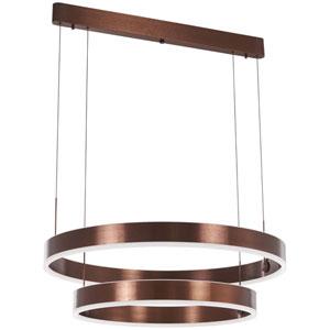 Rendezvous Satin Bronze 32-Inch LED Pendant