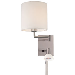 Reading Room Hardwired Swing Arm Wall Lamp