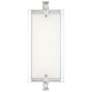 Brushed Nickel LED 14.75-Inch Bath Vanity Fixture