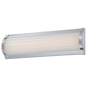 Vérin Chrome One-Light 16-Inch Wide LED Bath Light