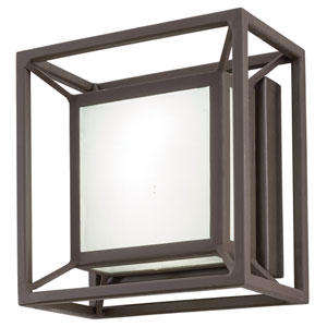 Outline Sand Bronze 6.5-Inch One-Light Outdoor LED Wall Sconce
