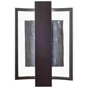 Sidelight Dorian Bronze 10-Inch One-Light Outdoor LED Wall Sconce