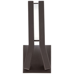 Tune Sand Bronze 11-Inch One-Light Outdoor LED Wall Sconce