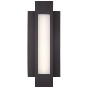 Insert Pebble Bronze 16.5-Inch One-Light Outdoor LED Wall Sconce