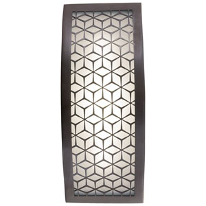 Copula Alder Bronze 13-Inch One-Light Outdoor LED Wall Sconce