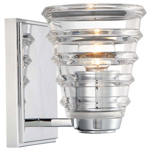Arctic Chrome One-Light Vanity