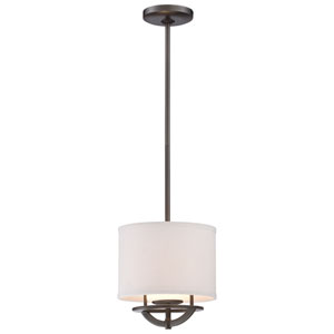 Circuit Smoked Iron One-Light Mini-Pendant
