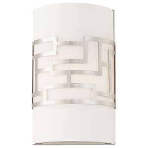 Alecia Necklace Brushed Nickel Wall Sconce