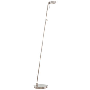 Brushed Nickel LED Pharmacy Lamp