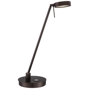 Copper Bronze Patina LED Table Lamp