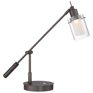 Copper Bronze Patina 20-Inch One-Light LED Task Lamp