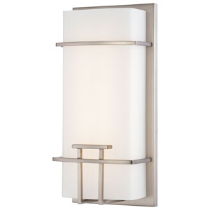 Brushed Nickel 12-inch 48 Light LED Bath Lamp