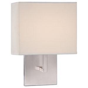 Brushed Nickel 8-Inch One-Light LED Wall Sconce