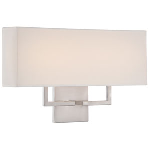 Brushed Nickel 17-Inch One-Light LED Wall Sconce