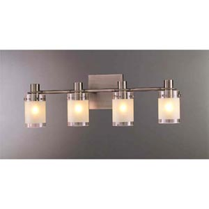Pierce II Four-Light Bath Fixture