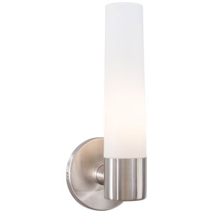Saber Brushed Stainless Steel Bath Light Fixture