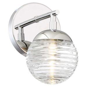 Vemo Polished Nickel LED Bath Light