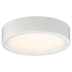 White LED Six-Inch Flush Mount
