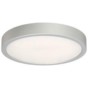 Silver LED 10-Inch Flush Mount