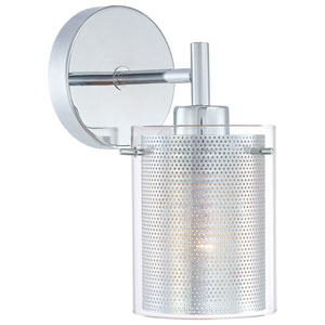 Grid II Chrome Wall Sconce