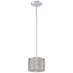 Hidden Gems Chrome One-Light LED Mini-Pendant