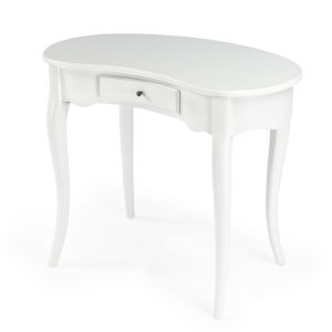 Masterpiece Edgewater White Writing Desk
