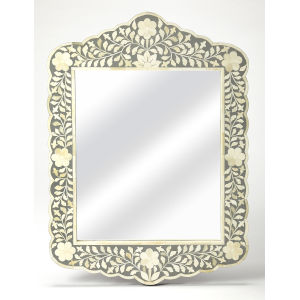 Vivienne Gray Wall Mirror