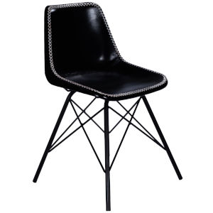 Inland Black Side Chair