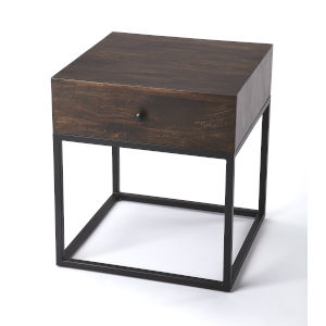 Brixton Coffee and Black End Table