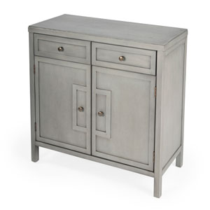 Imperial Gray Console Cabinet