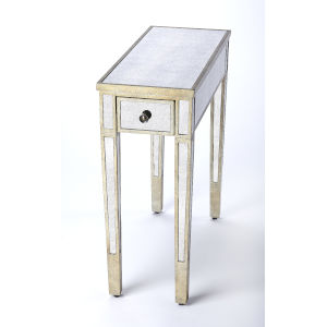 Gray 25-Inch Accent End Tables