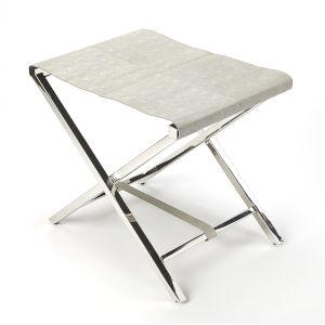 Gray Folding Stool