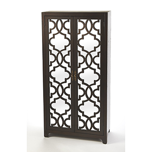Masterpiece Morjanna Coffee Tall Cabinet
