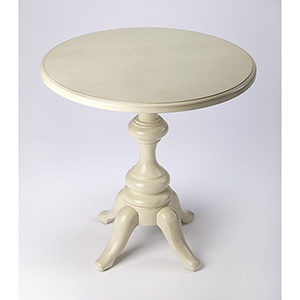 Masterpiece Tilton White End Table