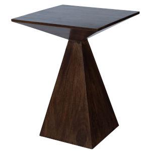 Titus Dark Brown End Table