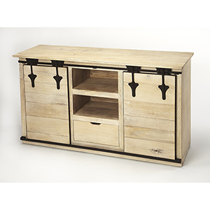 Industrial Chic Aneto Rustic Entertainment Console