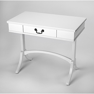 Masterpiece Alta White Writing Desk