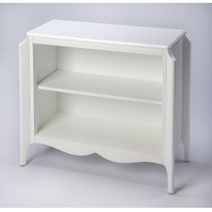 White Shelves and Bookcases Free Standing