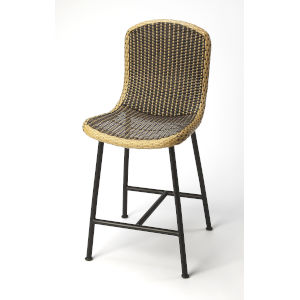 Brown 41-Inch Bar Stool