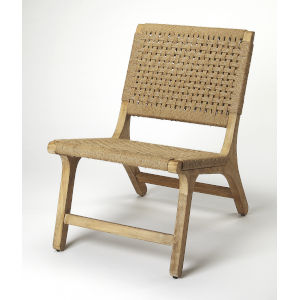 Brown Armless Chair