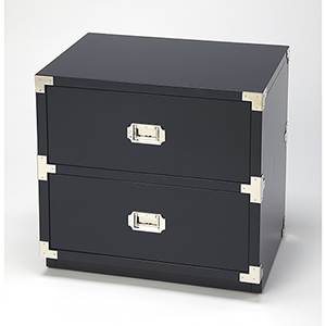 Butler Loft Anew Blue Two-Drawer Campaign Chest