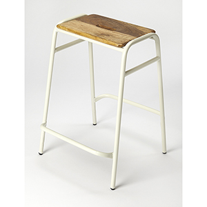 Butler Loft Dawson White Counter Stool