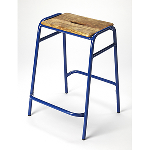 Butler Loft Dawson Blue Counter Stool