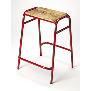 Butler Loft Dawson Red Counter Stool