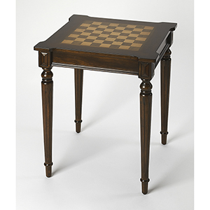 Doyle Plantation Cherry Chess Game Table
