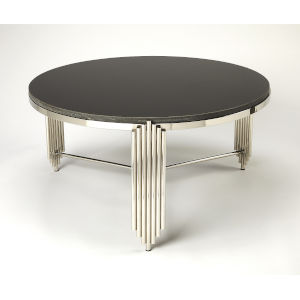 Black 18-Inch Cocktail and Coffee Tables