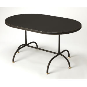 Black 21-Inch Cocktail and Coffee Tables
