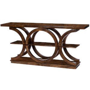 Stowe Brown Console Table