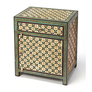 Artifacts Multicolor Perna Hand Painted Chest
