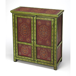 Artifacts Multicolor Disha Hand Painted Chest
